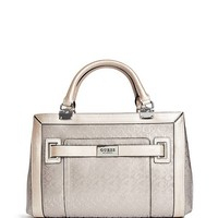 Lucio Logo Satchel at Guess