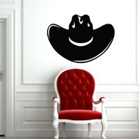 Wall Decal Decor Decals Art Sombrero Hat Mexico National Cowboy Clothes (M535)