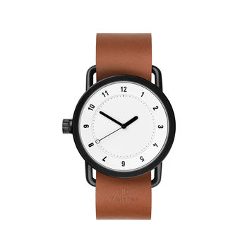 TID Watches — No.1 White Tan Watch