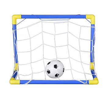Mini Football Soccer Goal Net Russia World Cup Folding Soccer Ball Net Set Indoor Outdoor Sport Game Gift For Kids Children Boys