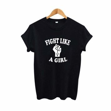 Fight Like A Girl Graphic Tee