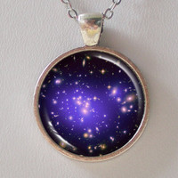 Galaxy Necklace -Galaxy Cluster Abell 1689 & Dark Matters - Galaxy Series