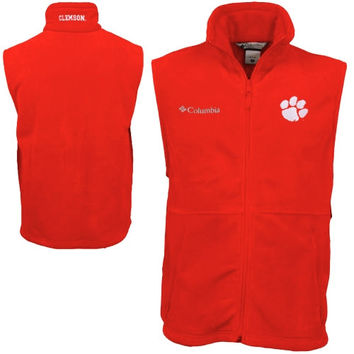 Columbia Clemson Tigers Flanker Vest - Orange