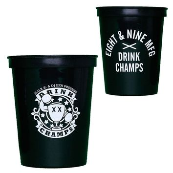 2 Official Drink Champs Stadium Cups 16 oz