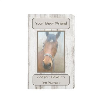 Best Friend Horse Photo Journal