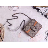 GUCCI WOMEN'S LEATHER MINI DIONYSUS CHAIN SHOULDER BAG