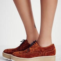 Free People Park Slope Flatform Oxford
