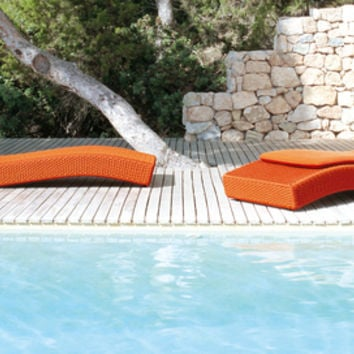 Wave - Sun loungers by Paola Lenti | Architonic