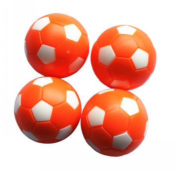 Board  game for children Orange  36mm plastic soccer table football Foosball balls 4 pcs Footballs