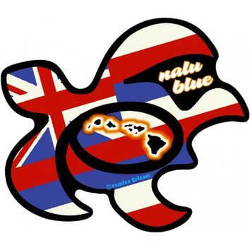 Honu Flag Decal Sticker