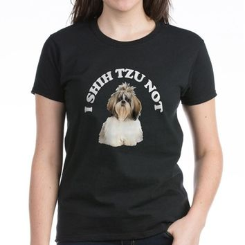 I Shih Tzu No Women's Dark T-Shirt