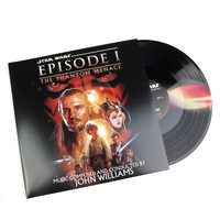 John Williams: Star Wars - The Phantom Menace Soundtrack (Darth Maul Colored Vinyl) Vinyl 2LP