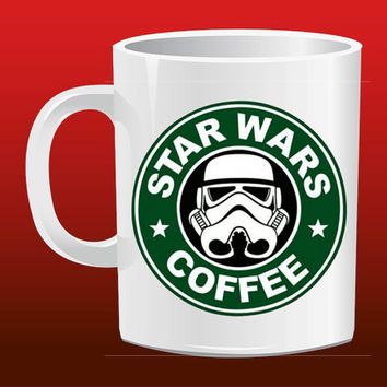 Star wars Geek style Storm Troopers Coffee for Mug Design