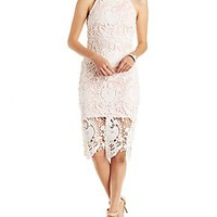 MUSTARD SEED FLORAL LACE DRESS