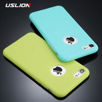 Candy Color Silicon iPhone Case