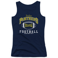 FRIDAY NIGHT LIGHTS/STATE CHAMPS - JUNIORS TANK TOP - NAVY -