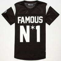 Famous Stars & Straps Star Mens Jersey Black  In Sizes