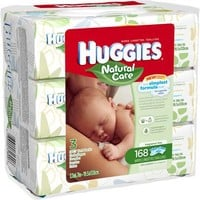 HUGGIES Natural Care Baby Wipes, 56 sheets, (Pack of 3) - Walmart.com
