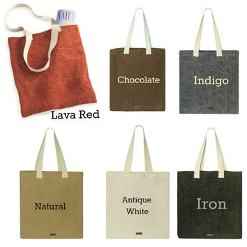 Monogram Natural Jute Tote Bags Rustic and Country Wedding Party Gift Bags