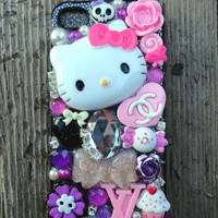 Hello Kitty IPHONE Case - Black