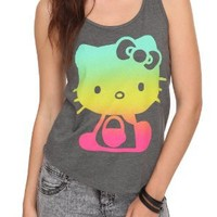 Hello Kitty Ombre Girls Tank Top Plus Size Size : XX-Large