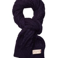Heavy Cable Knitted Scarf - Scotch & Soda