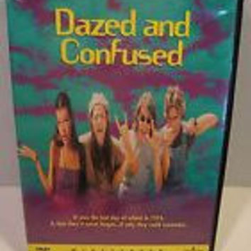 Dazed and Confused 1993 Movie DVD Widescreen Edition Used Ben Affleck, Renee Zellweger, Matthew McConaughey UPC025192027727