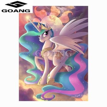 5D Diamond Painting My Little Pony Princess Celestia Kit