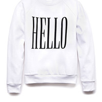 Hello Goodbye Sweatshirt (Kids)