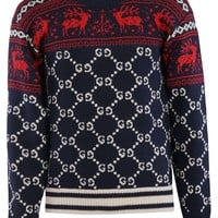 Reindeer Christmas Sweater by Gucci