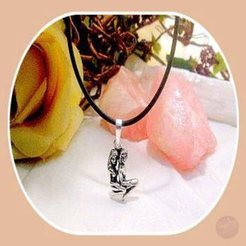 """""""Lovers"""" Sterling Silver Necklace Boxed Set"""