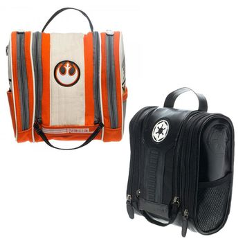 Star Wars Galactic Empire, Rebel Alliance Toiletry Travel Doppler Kit Bag