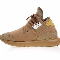 "Adidas Y-3 QASA HIGH Top""Wheat"" B389"