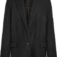 Isabel Marant - Ilaria oversized wool-blend bouclé-tweed jacket