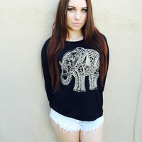 Elephant Long Sleeve Top