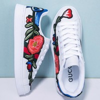 Gucci Casual Embroidery Stylish Shoes [11532968268]