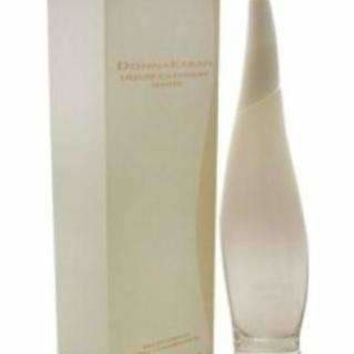 DONNA KARAN LIQUID CASHMERE WHITE by Donna Karan EAU DE PARFUM SPRAY 3.4 OZ & DUAL BLACK & WHITE ROLLERBALL .34 OZ MINI
