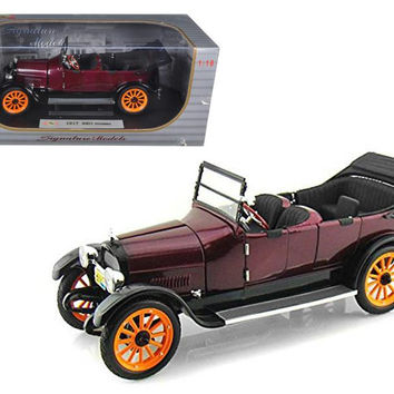 1917 REO Touring Burgundy 1-18 Diecast Model Car by Signature Models