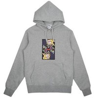 Billionaire Boys Club Spring '18 OMEGA PATCH POPOVER HOOD - HEATHER GREY