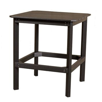 "Wildridge Classic Recycled Plastic 38"" High Dining Table"