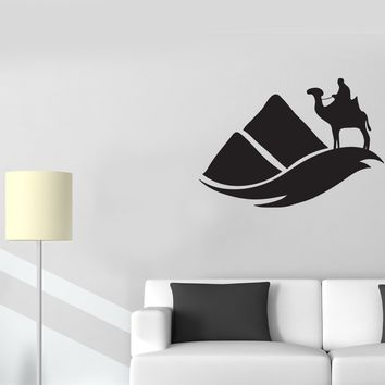 Vinyl Decal Wall Sticker Nomad Bedouin Desert Sand Barkhans Egypt Decor (g055)