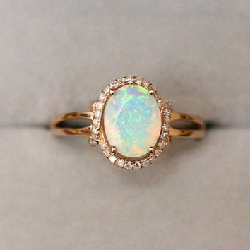 Opal - Engagement Ring