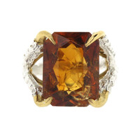 Madeira Citrine - Claws of Engagement
