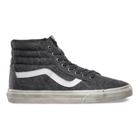 Vans Overwashed SK8-Hi Reissue (black/true white)