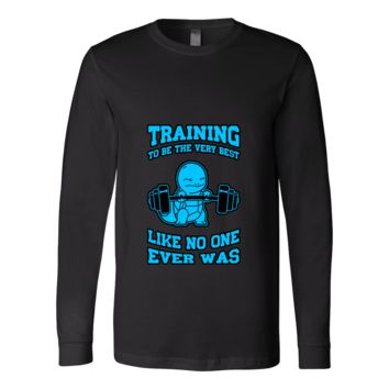 POKEMON SQUIRTLE TRAINING Long Sleeve T Shirt - TL00432LS