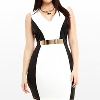 Plus Size Mademoiselle V-Neck Dress | Fashion To Figure