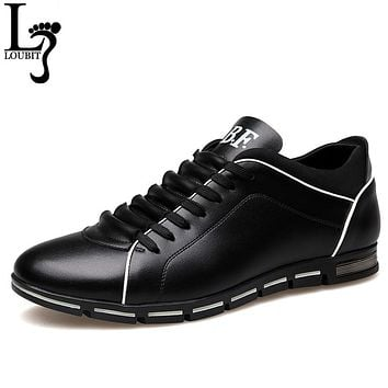 Fashion Big Size Genuine Leather Men Shoes, High Quality Men Casual Shoes, Brand Shoes Men