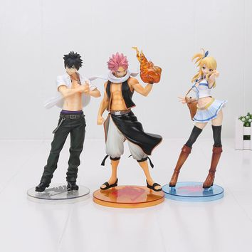 "9"" 23cm Anime Fairy Tail Natsu Dragneel PVC Action Figure Collectible Model Toy"