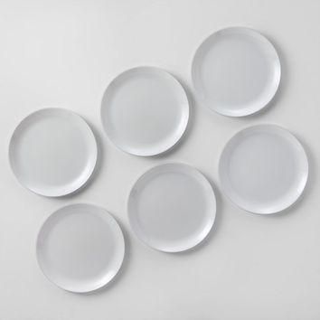 "Glass Dinner Plate 10.7"" White - Made By Design™"