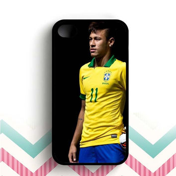 Neymar Jr Brazil  iPhone 4 and 4s case